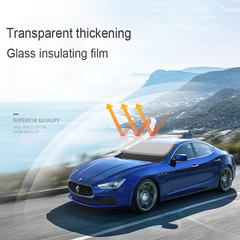 Self-adhesive Car Windshield Side Window Film Sun Shade UV Protection Sticker