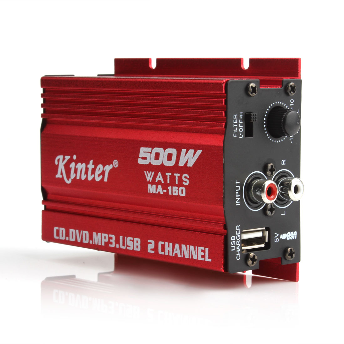 Mini-Hi-Fi-500W-2-Channel-Stereo-Audio-Amplifier-For-Car-Motorcycle-Home-New thumbnail 2
