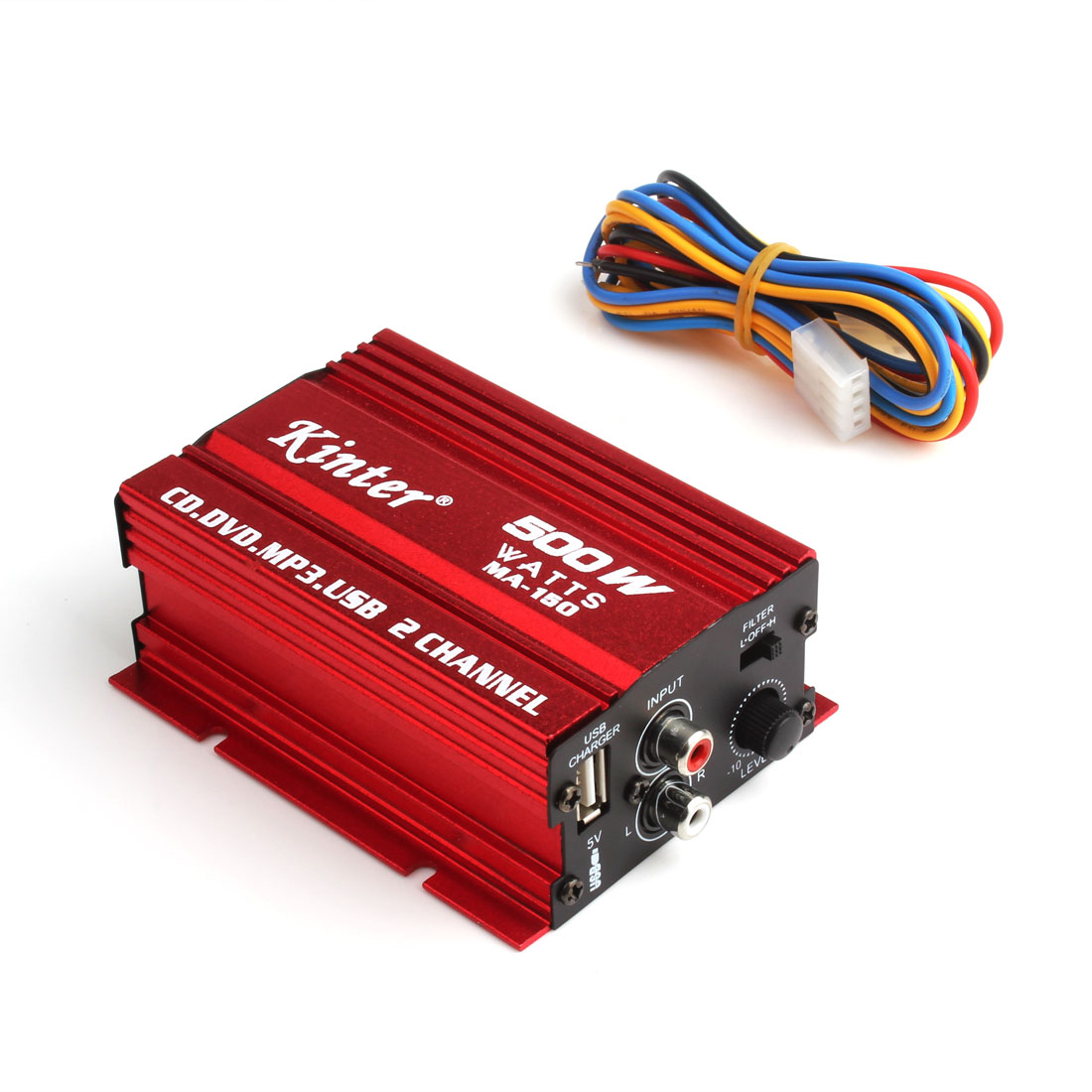 Mini-Hi-Fi-500W-2-Channel-Stereo-Audio-Amplifier-For-Car-Motorcycle-Home-New thumbnail 6