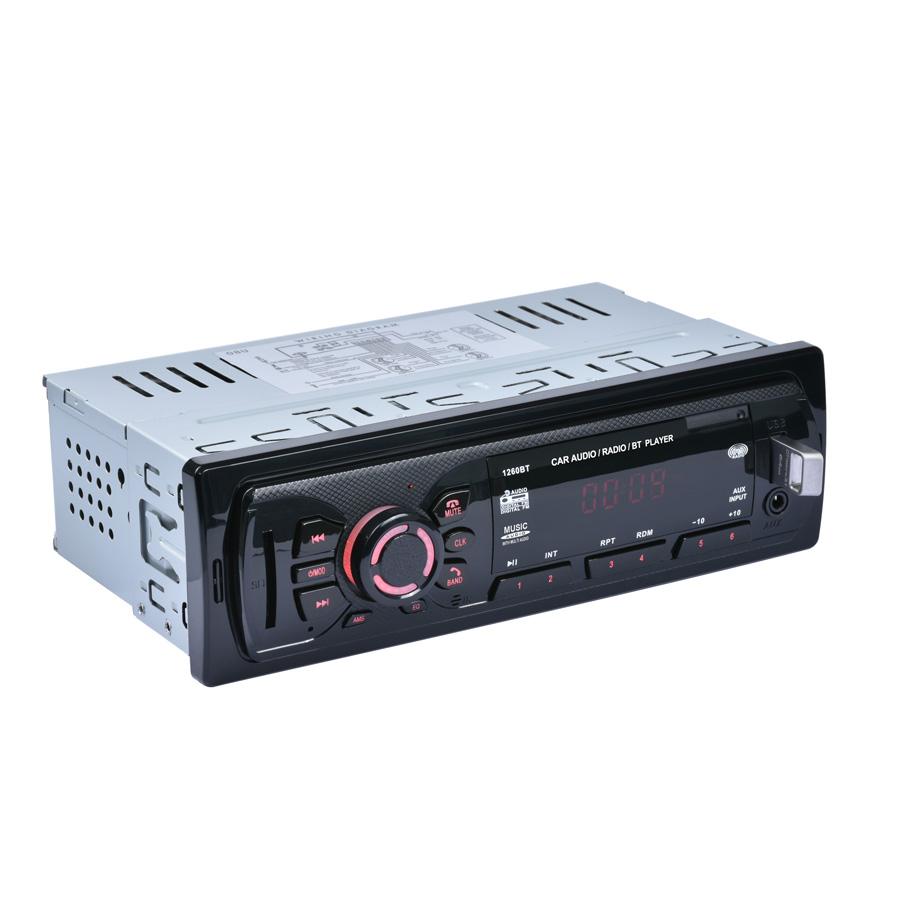 Bluetooth Car Stereo Audio In Dash Fm Radio Aux Input Receiver Sd Wiring Diagram Kenwood Kdc 258u Picture 4 Of 12