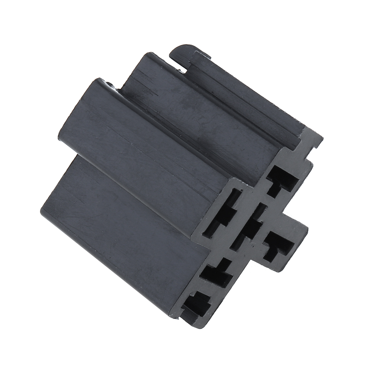 6-3mm-Car-Vehicle-5-Pin-Relay-Socket-Connector-Holder-with-5pcs-Copper-Terminal thumbnail 4