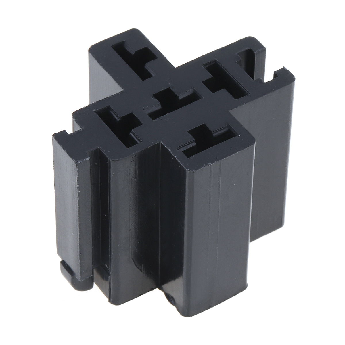 6-3mm-Car-Vehicle-5-Pin-Relay-Socket-Connector-Holder-with-5pcs-Copper-Terminal thumbnail 7