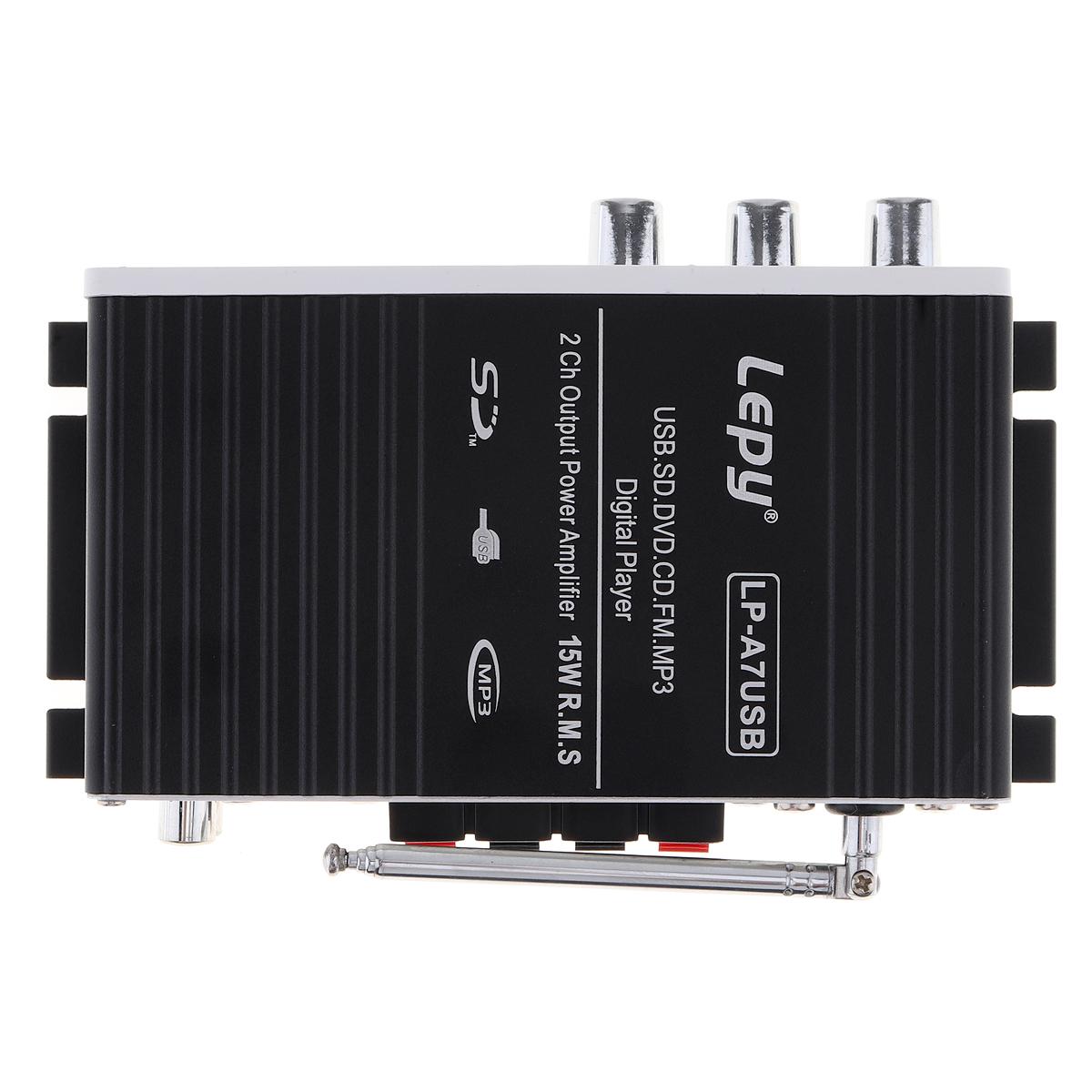LEPY-Bluetooth-Mini-Power-Audio-Amplifier-Hi-Fi-AMP-MP3-FM-USB-SD-AUX-Car-Home thumbnail 11
