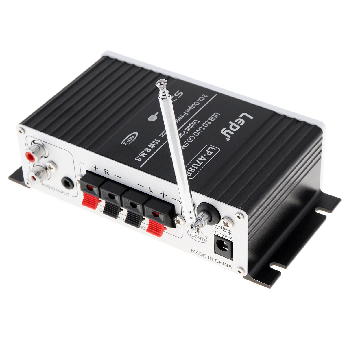 LEPY-Bluetooth-Mini-Power-Audio-Amplifier-Hi-Fi-AMP-MP3-FM-USB-SD-AUX-Car-Home thumbnail 12
