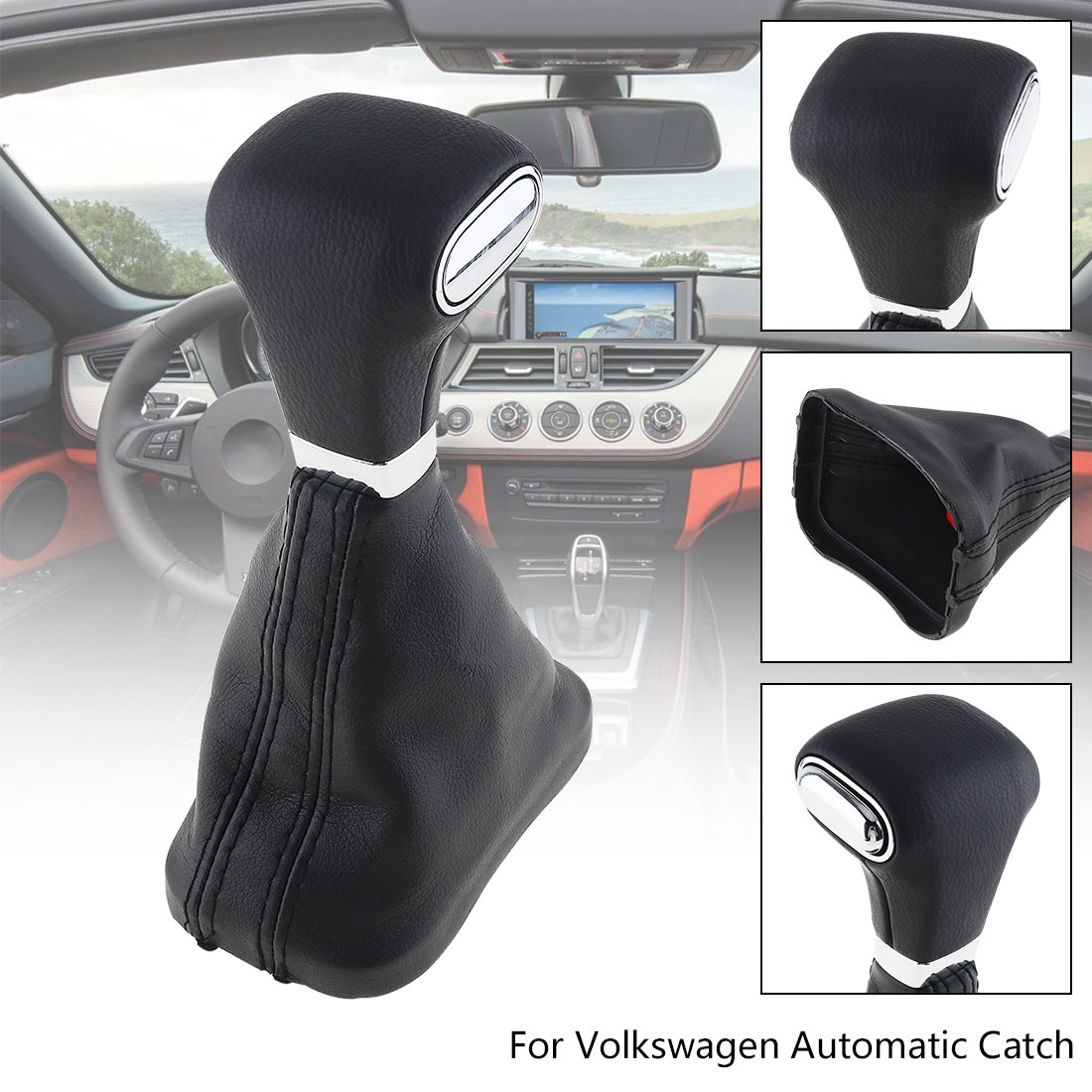 Details about Automatic Car Gear Shift Knob with Dust cover For VW  Volkswagen Golf Bora Tiguan