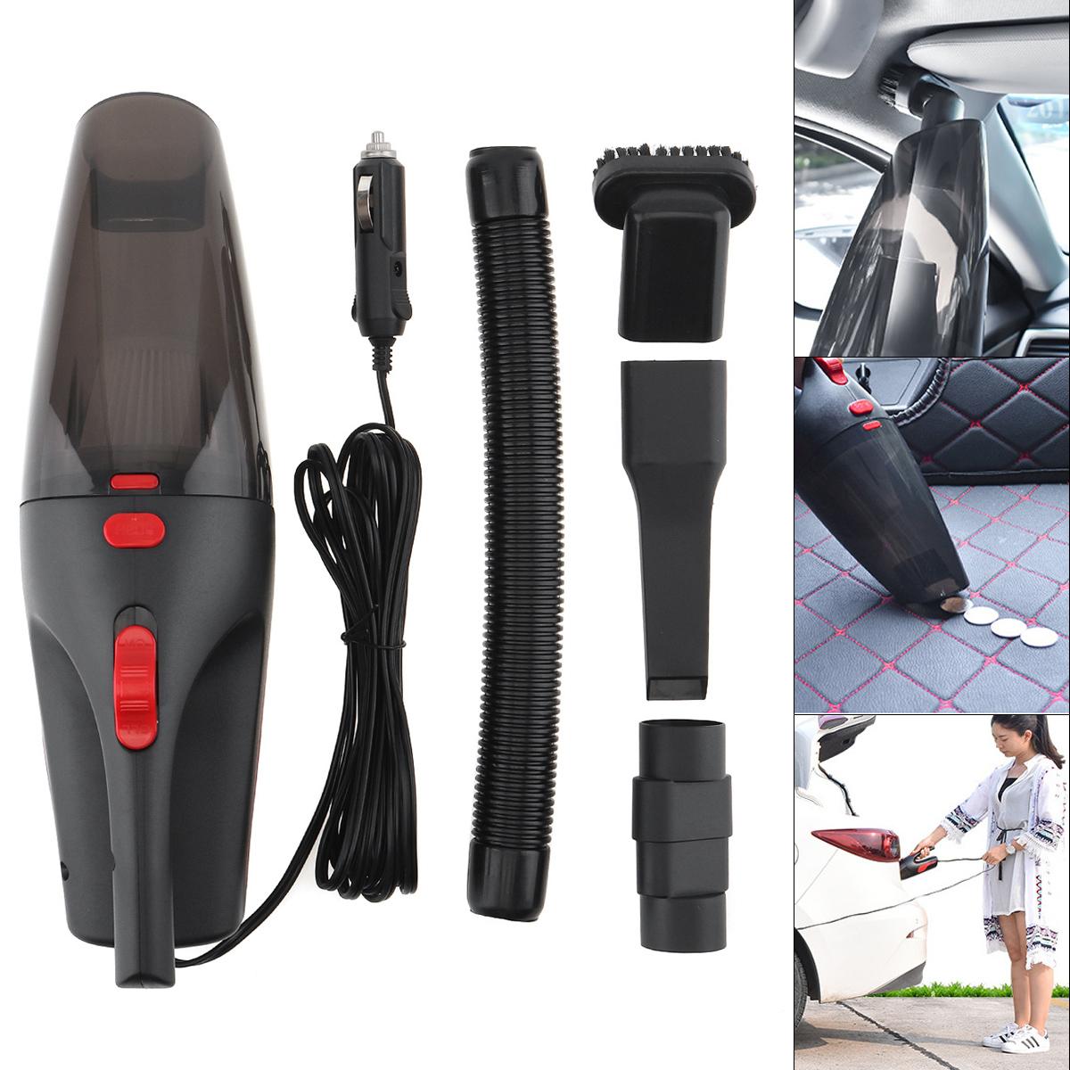 Car Vacuum Auto Cleaner 12V 120W Handheld Vacuum Power Cord