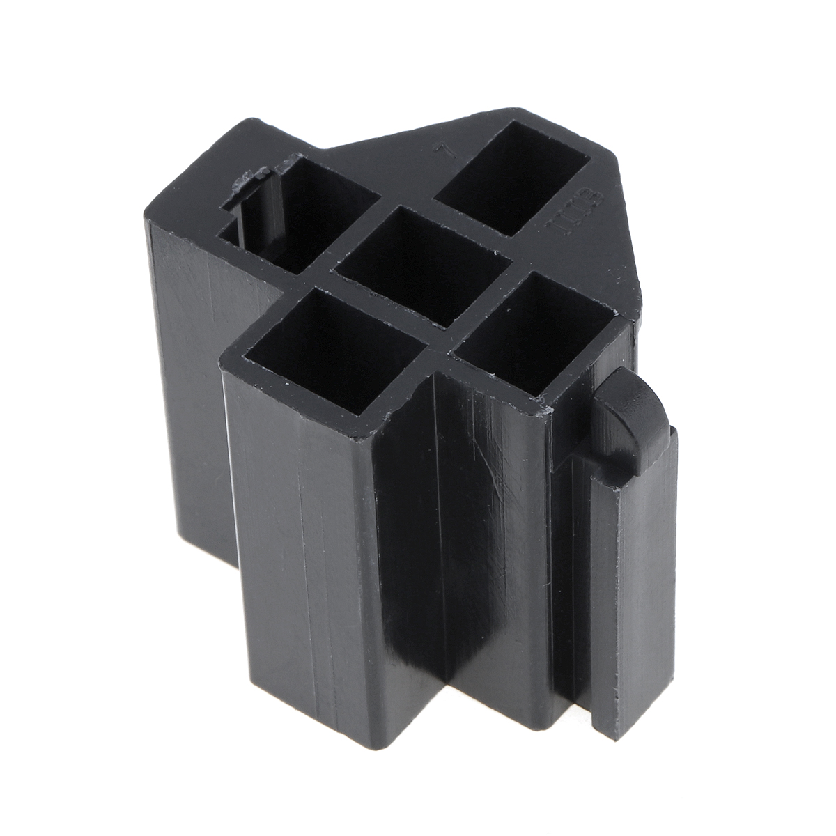6 3mm Car Vehicle 5 Pin Relay Socket Connector Holder With